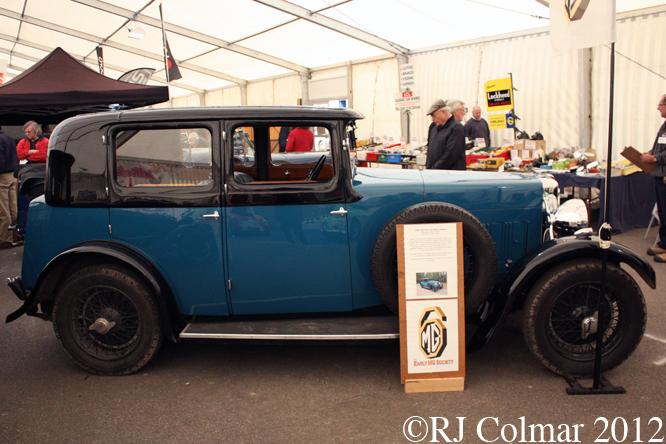 MG 18/80 Six deluxe Saloon Mk II, Bristol Classic Car Show
