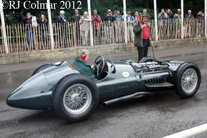 BRM P15 Mk 1, Goodwood Festival of Speed