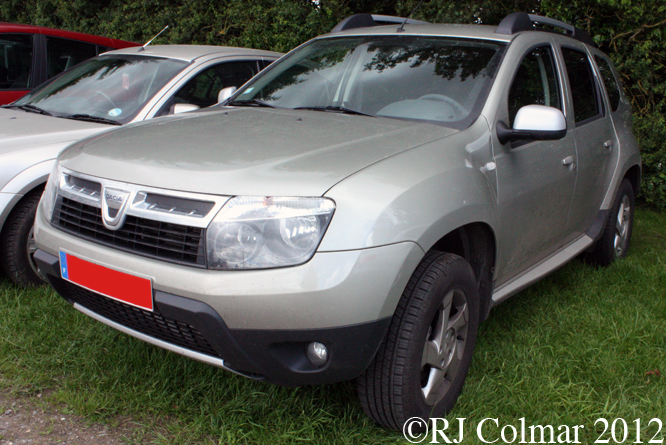 Dacia Duster, Castle Combe, C&SCAD