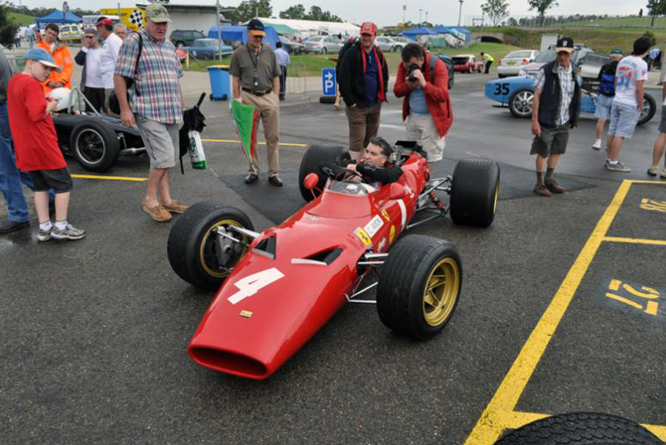 Rob Hall, Ferrari, Dino, 166/246, Tasman Revival, Eastern Creek Internaltional Racway