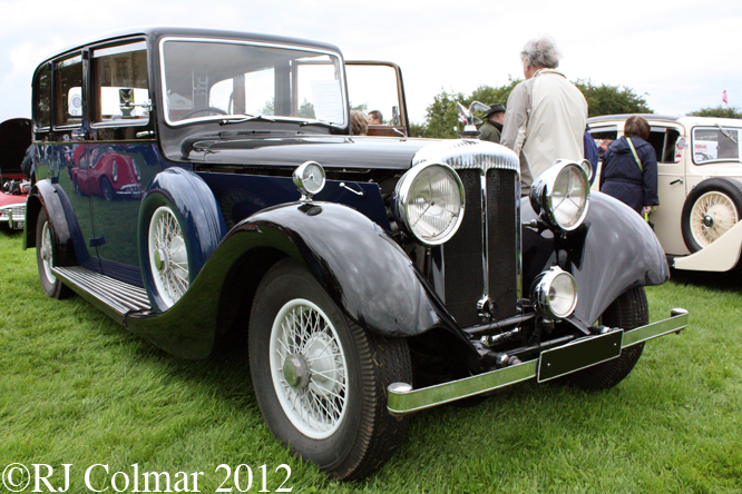 Daimler 32 hp, Classics at the Castle, Sherborne Castle