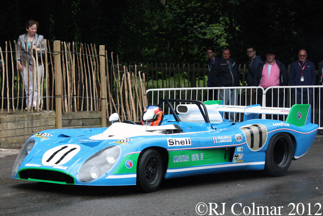 Matra MS670 B, Goodwood Festival of Speed