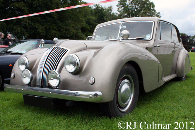 AC 2 litre Saloon, Classics at the Castle, Sherborne Castle