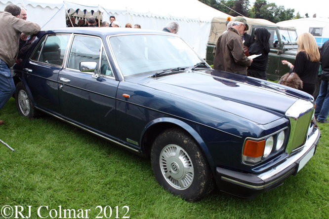 Bentley Mulsanne, Classics at the Castle, Sherborne Castle