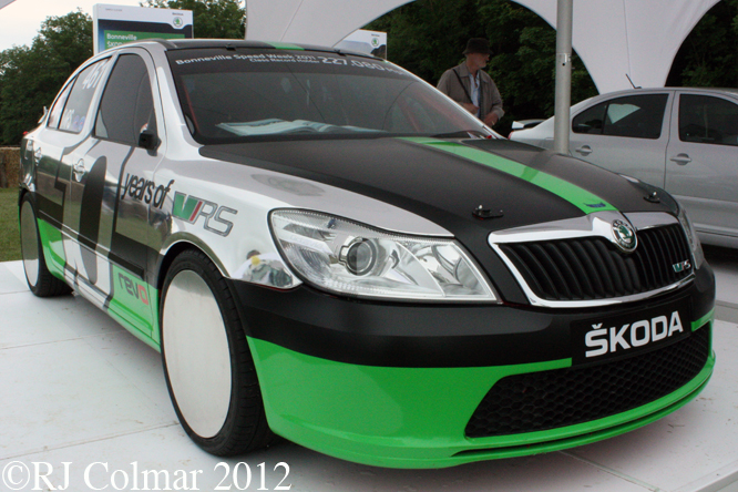Skoda Octavia vRS, Goodwood Festival of Speed