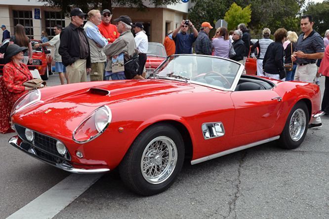 Ferrari 250 SWB California Spyder, Carmel by the Sea, Concours On The Avenue