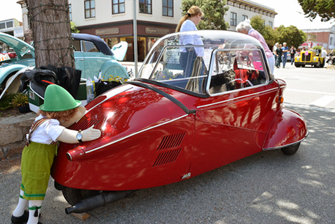 Messerschmitt KR 200, Carmel by the Sea Concours d'Elegance