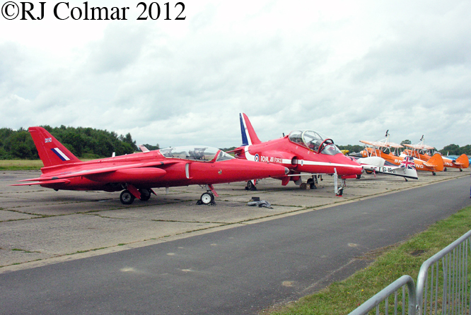 Folland Gnat, BAE Hawk, Wings and Wheels, Dunsfold Aerodrome