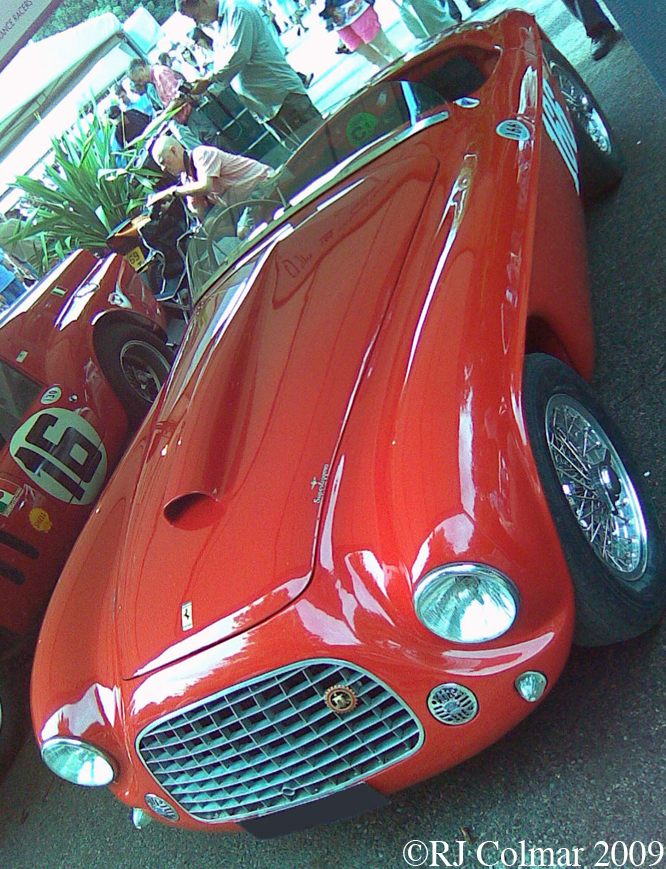 Ferrari 166MM, Goodwood, Festival Of Speed