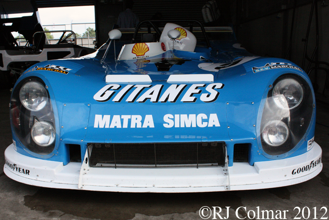 Matra MS 630 C, Donington Park Test Day