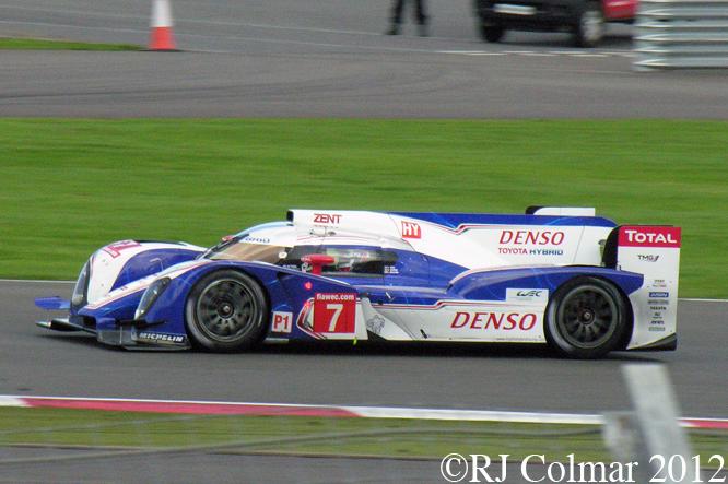 Toyota TS030 Hybrid, Silverstone 6 Hours WEC