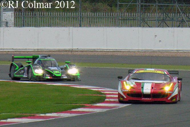 Ferrari 458 Italia, Silverstone 6 Hours WEC