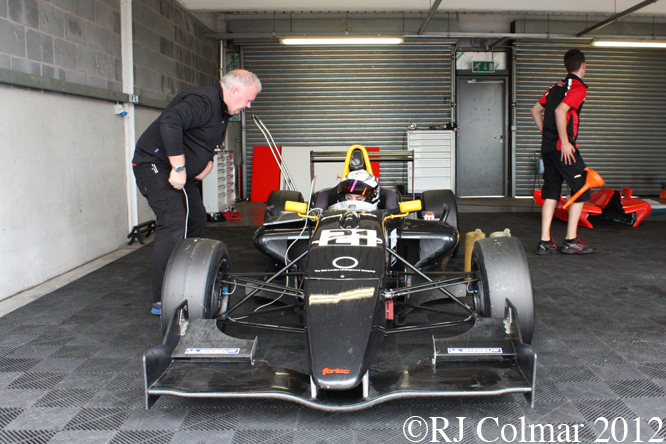 Tatuus FR2000, Donington Park Test Day