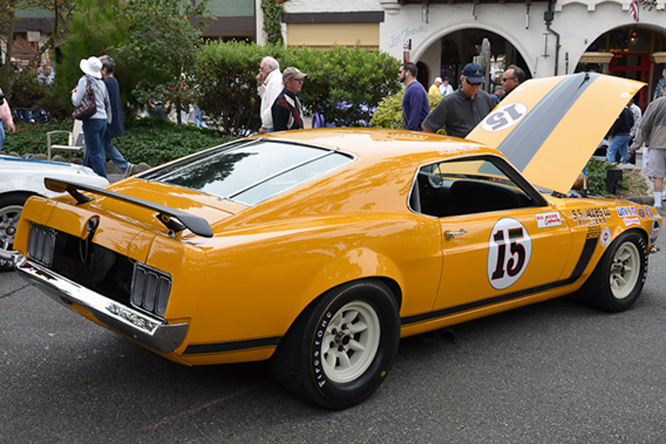 Bud Moore Ford Mustang Boss 302, Carmel by the Sea Concours d'Elegance
