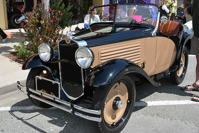 American Austin Roadster, 6th Annual Carmel by-the-sea Concours