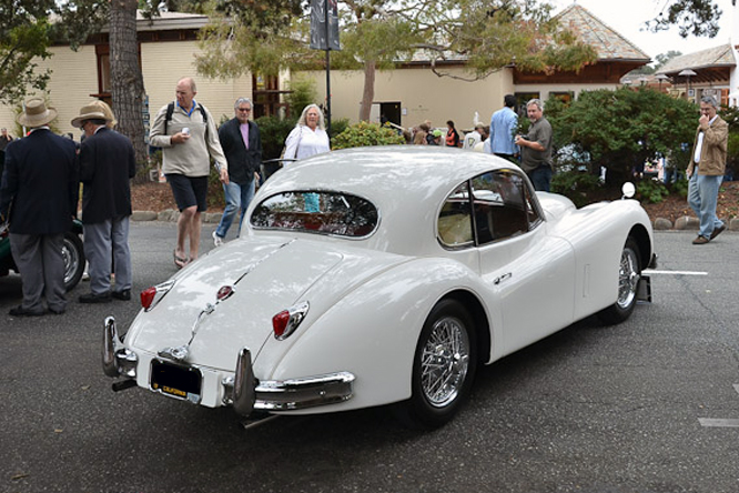 Jaguar XK 140 FHC SE, 6th Annual Carmel by-the-sea Concours