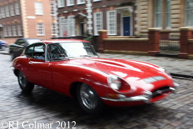 Jaguar E-type, Avenue Drivers Club, Queen Square, Bristol