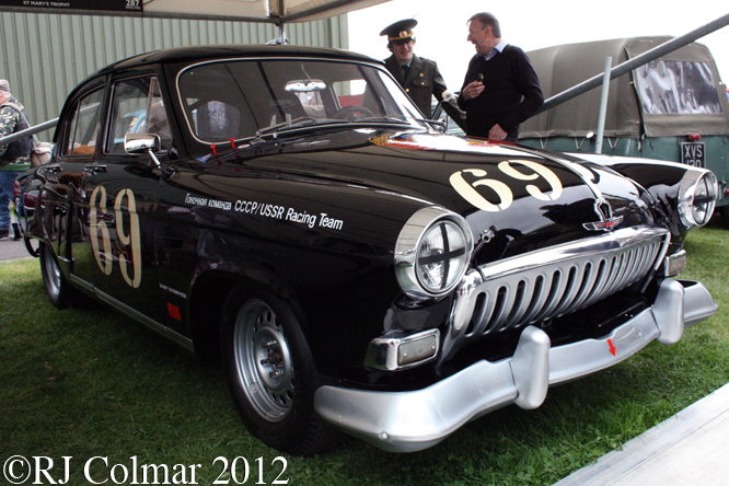 GAZ Volga 21M, Goodwood Revival