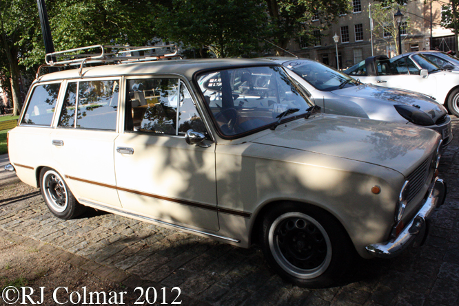 Lada 1200, Avenue Drivers Club, Queen Square, Bristol
