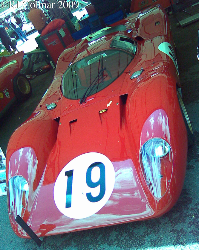 Ferrari 312P, Goodwood Festival of Speed