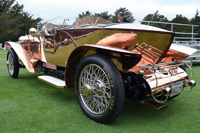 Rolls Royce Silver Ghost by Brockman, Hillsborough Concours d'Elegance