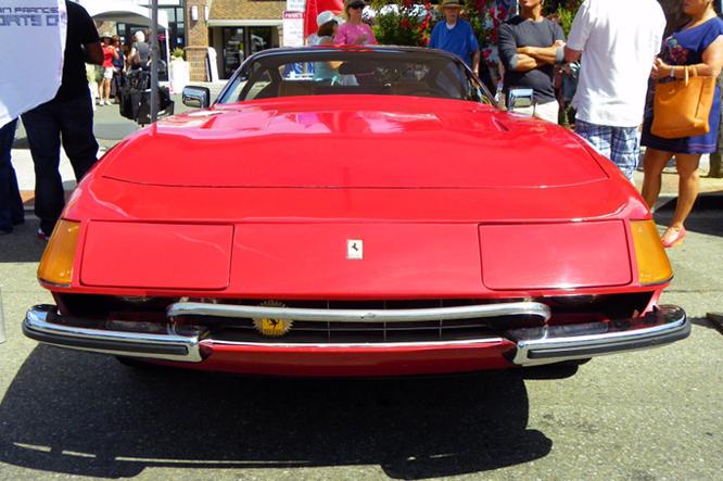 Ferrari 365 GTB/4, Danville Concours d'Elegance