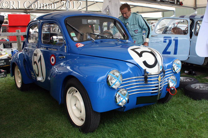 Renault 4CV, Goodwood Revival