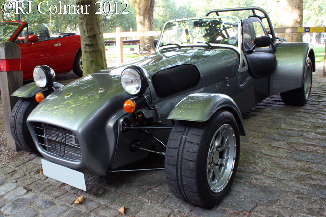 Caterham Seven, Avenue Drivers Club, Queen Square, Bristol