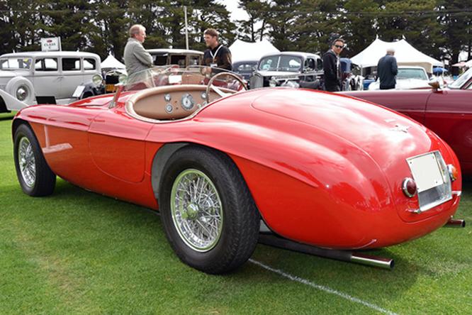 Ferrari 166MM, Hillsborough, Concours d'Elegance