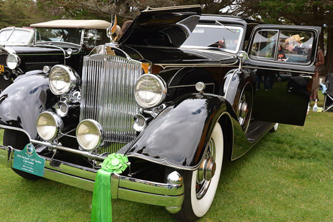 Packard 12 1107 Club Sedan, Hillsborough Concours d'Elegance