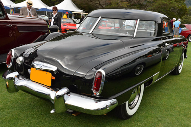 Studebaker Comander Starlight Coupé, Hillsborough Concours d'Elegance