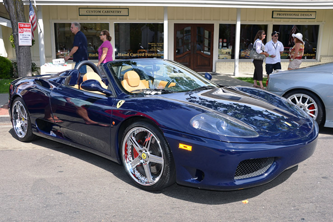 Ferrari F360 GTS, Danville Concours d'Elegance