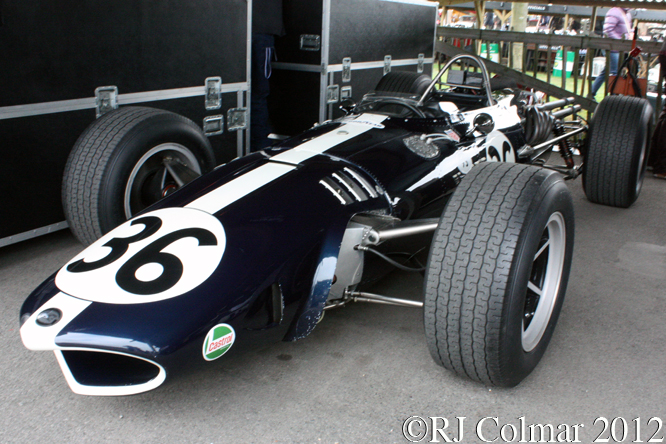 Eagle Weslake T1G, Goodwood Revival