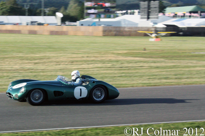 Aston Martin DBR 1, Goodwood Revival