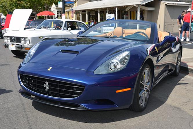 Ferrari California, Danville Concours d'Elegance