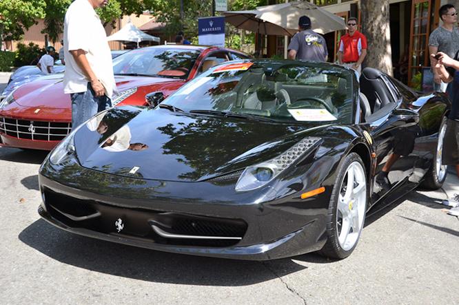 Ferrari 458 Italia, Danville Concours d'Elegance