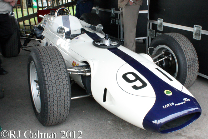 Lotus Ford 29, Goodwood Revival