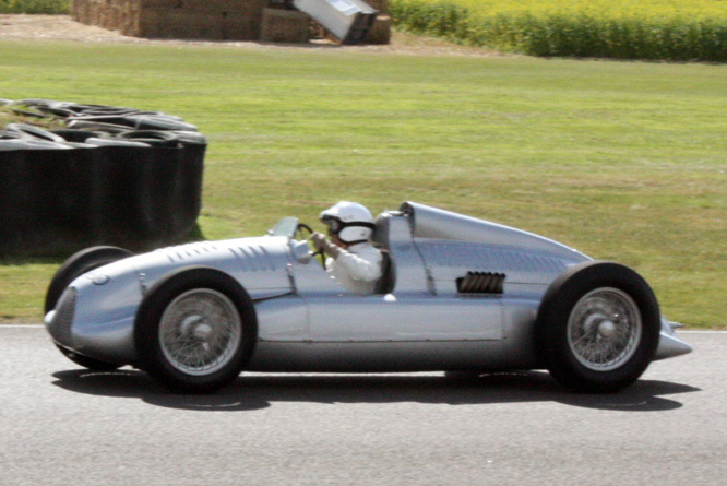 Auto Union D-Type, Goodwood Revival