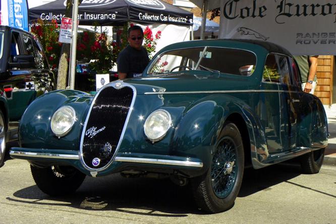 ALFA Romeo 6C 2500 Sport Touring Berlinetta, Danville Concours d' Elegance