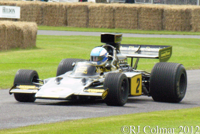 Lotus 72 E, Goodwood Festival of Speed