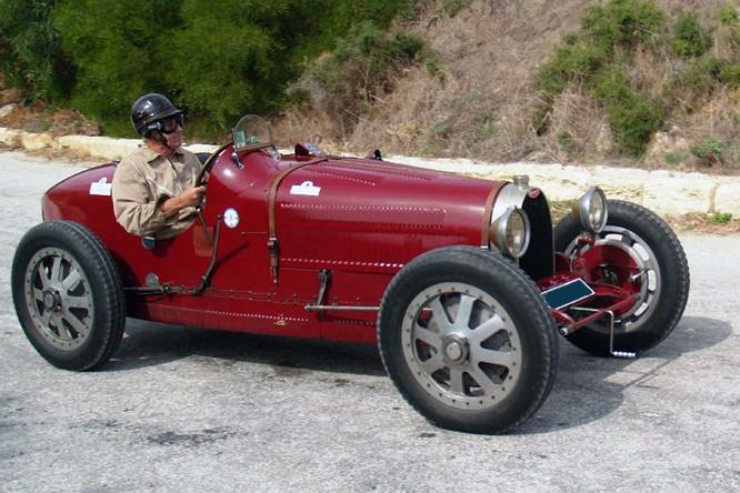 Bugatti T35 R, Mtahleb Hillclimb, Malta