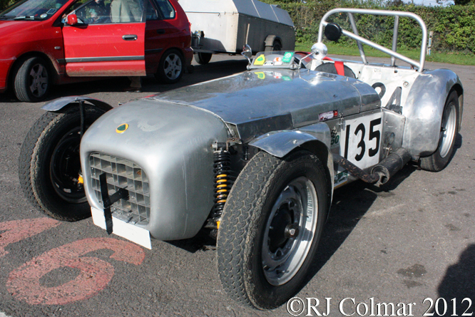 Lotus Mk 6, Bristol Pegasus MC Sprint, Castle Combe
