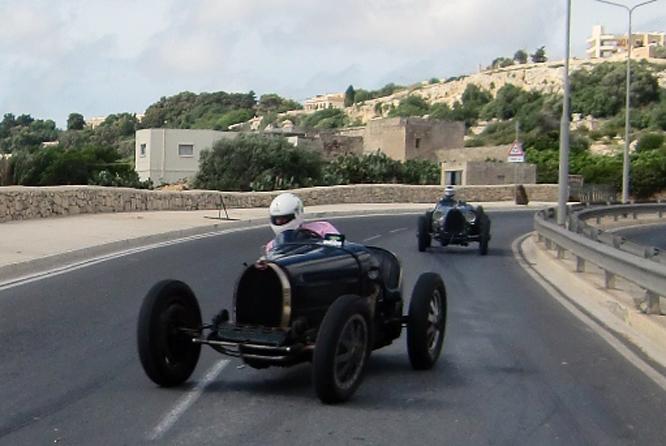 Bugatti T35B R, Mdina Grand Prix, Malta