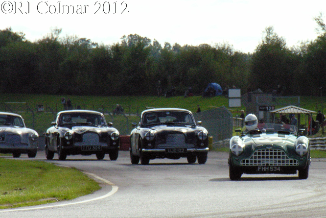 Historic Aston Martin's, Autumn Classic Castle Combe