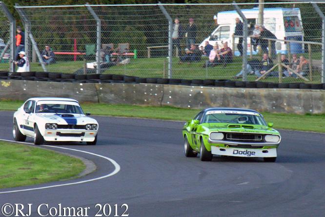 Bernie's V8s HVRA, Autumn Classic, Castle Combe