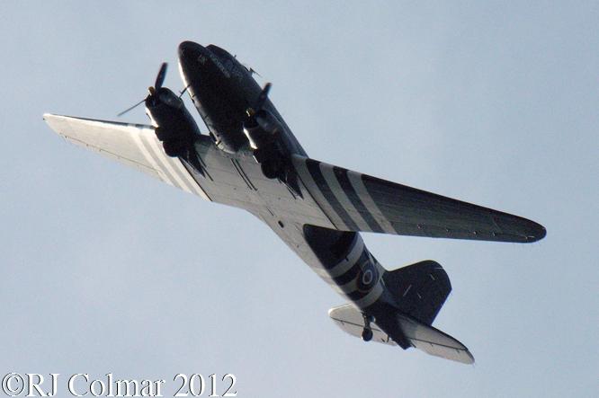 Douglas C 47, BRM Day, Bourne, Lincolnshire