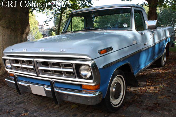 Ford F100, Avenue Drivers Club, Bristol