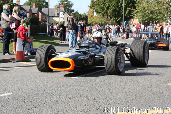 BRM P126, BRM Day, Bourne, Lincolnshire
