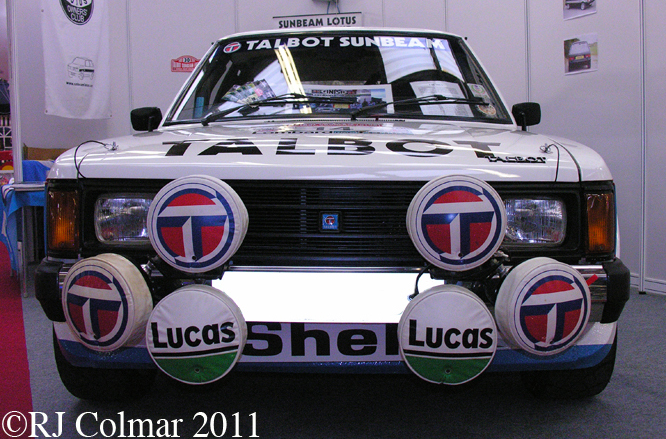 Talbot Sunbeam Lotus, Race Retro, Stoneleigh