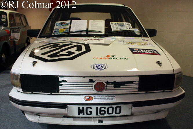 MG Maestro 1600, Race Retro, Stoneliegh